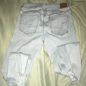 AEO ripped jeans light
